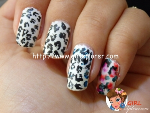 Leopard Print Nail Tutorial
