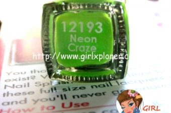 LASPLASH Neon Craze Nail Paint Quick Review