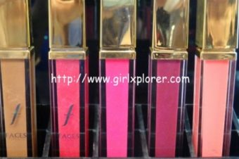 FACES GLAM ON LIPGLOSS – HAUL AND SWATCHES