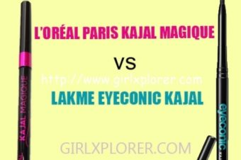 L'ORÉAL PARIS KAJAL MAGIQUE VS LAKME EYECONIC KAJAL – WHICH ONE IS BETTER?