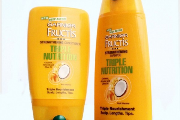 "My Hair Evaluation for ""Happy Hair Challenge"" by Garnier Fructis Triple Nutrition Range"