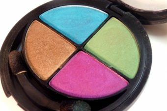 FLORMAR QUARTET EYE SHADOW PALETTE #405 Review, Swatches & EOTD