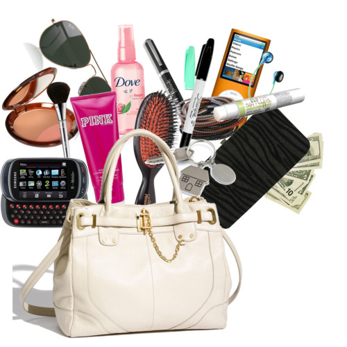 Have Accessories in a Female's Handbag