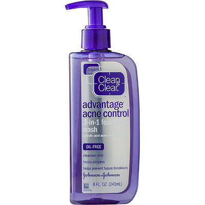 Clean & Clear Advantage Acne Control 3-in-1 Foaming Face Wash
