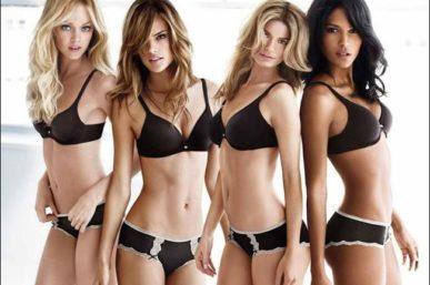 The truth behind Victoria Secret Model's Incredible Bikini Cleavage