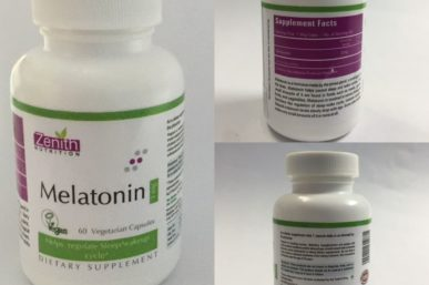 Product Review of Melatonin—Dietary Supplement