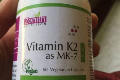 Product Review of Zenith Nutrition Dietary Vitamin K2 as MK-7 Supplements