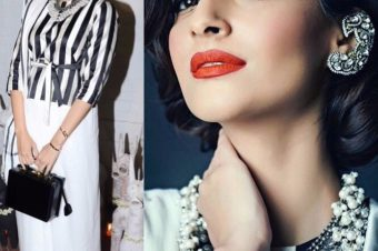 Sonam Kapoor's Monochrome Look is up-to-the-minute