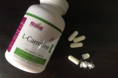 Trick Your Way To A More Healthy & Fitter You With  Zenith Nutrition L-Carnitine Vegetarian Capsules!
